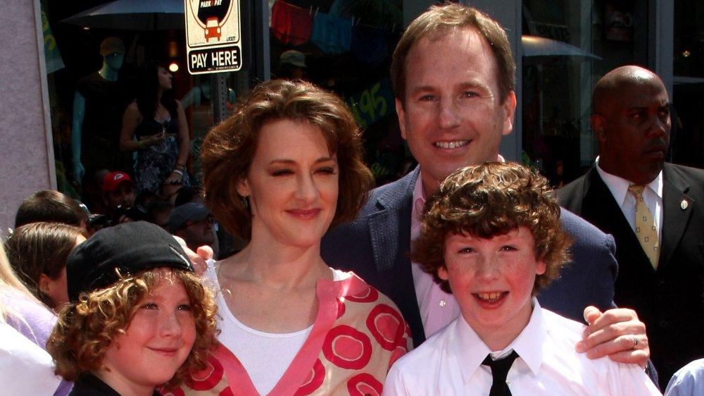 Joan Cusack et sa famille à la première de Toy Story 3