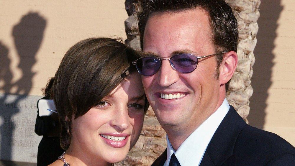 Rachel Dunn et Matthew Perry aux Primetime Creative Arts Emmys 2004