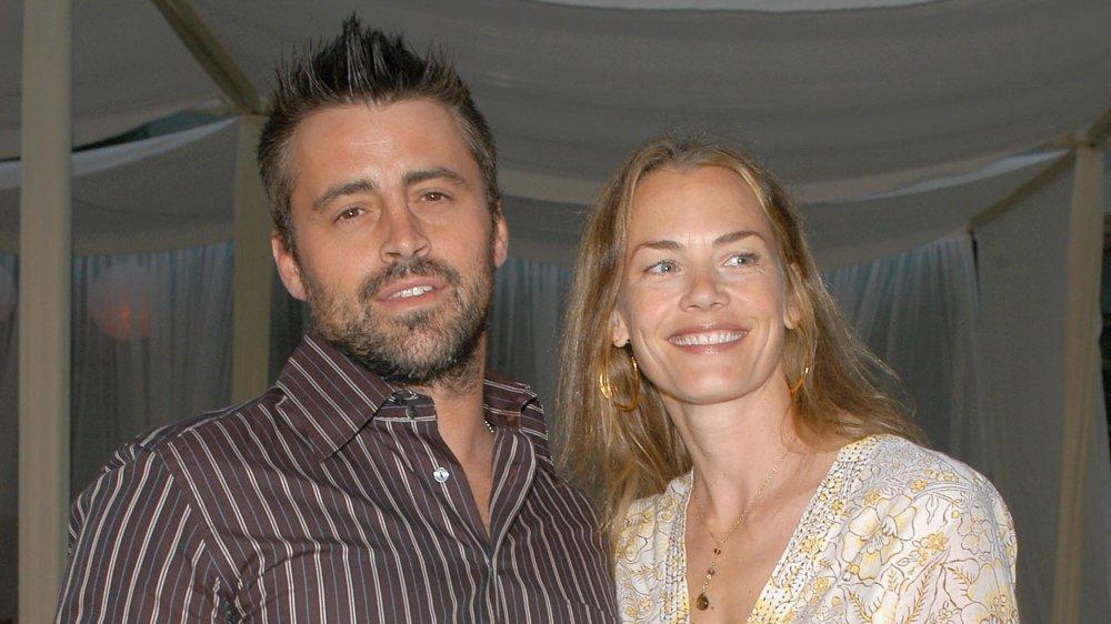 Matt LeBlanc et Melissa McKnight lors de la première du Comeback en 2005