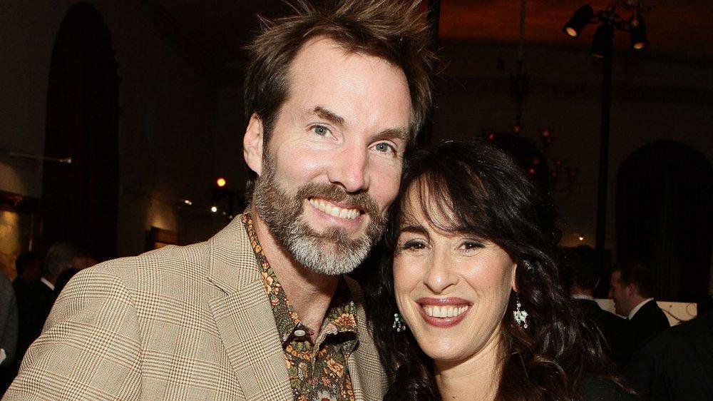 Daniel Wheeler et Maggie Wheeler lors d'un événement en 2010