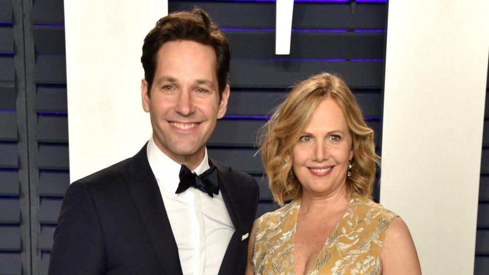 Paul Rudd et Julie Yaeger à la soirée des Oscars Vanity Fair 2019