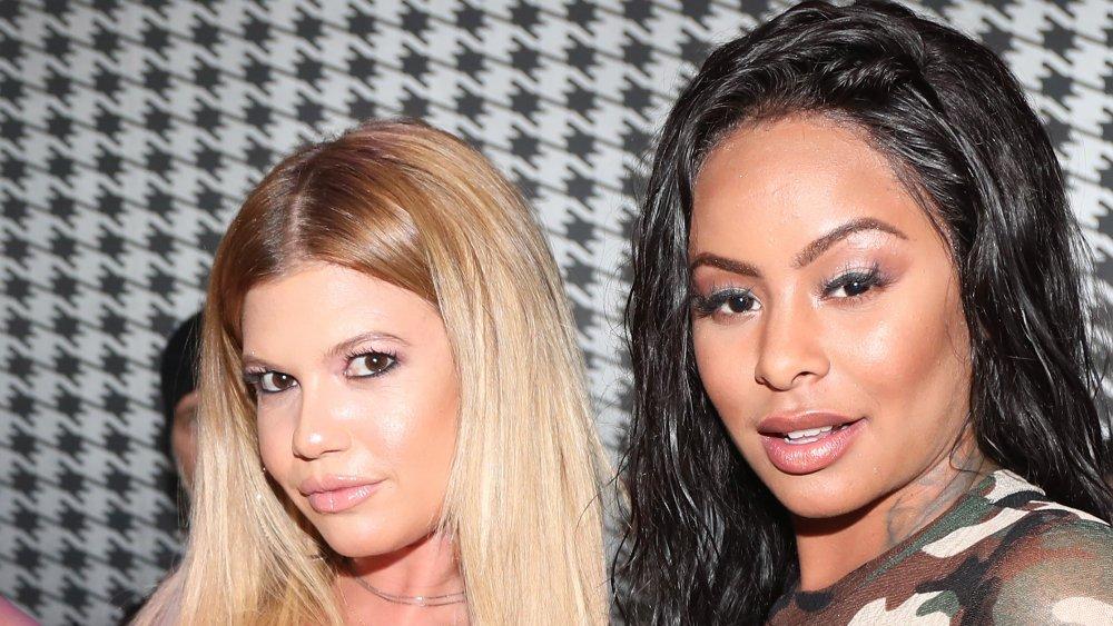 Chanel West Coast et Alexis Skyy lors d'un événement en 2017
