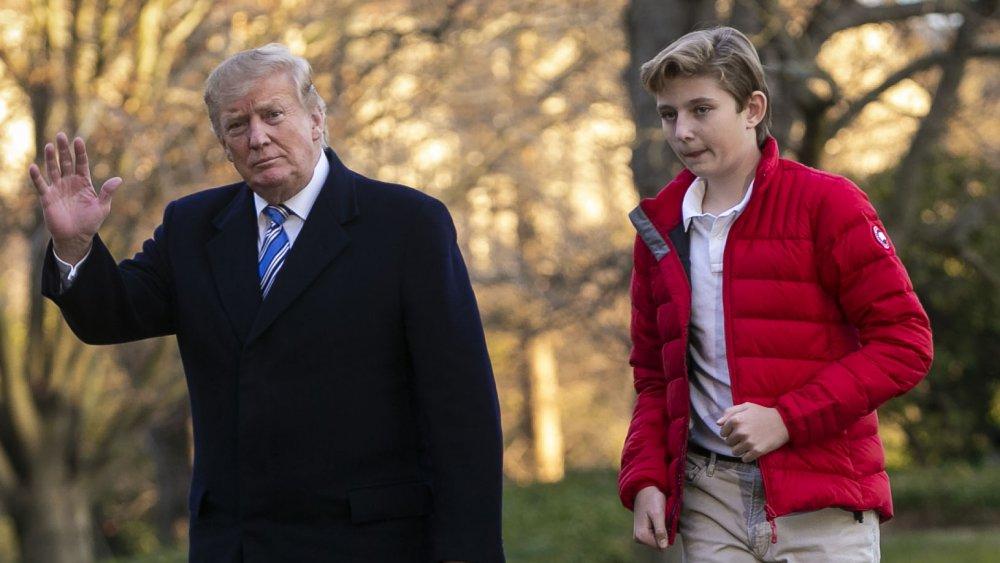 Donald Trump et Barron Trump