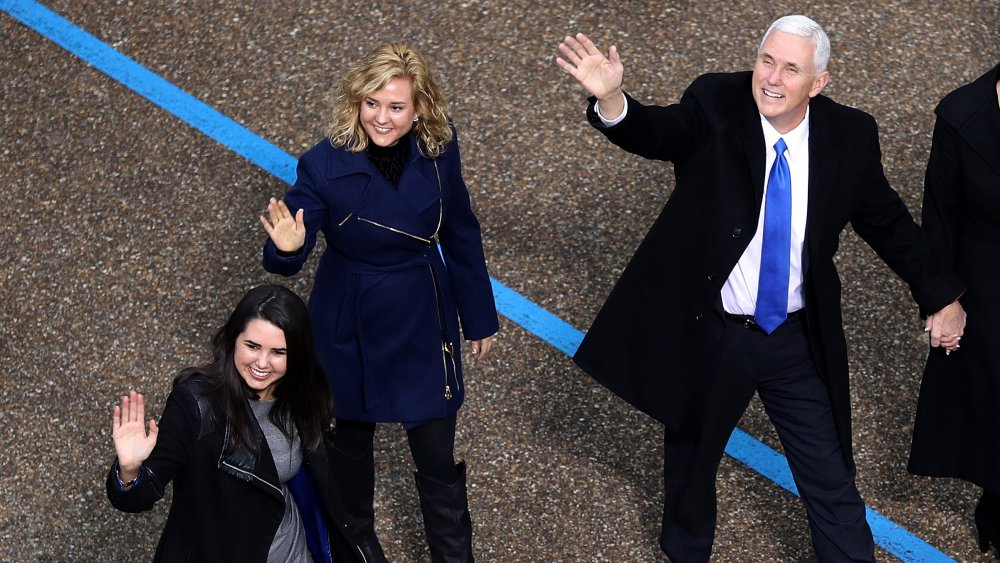 Charlotte Pence, Mike Pence et Audrey Pence