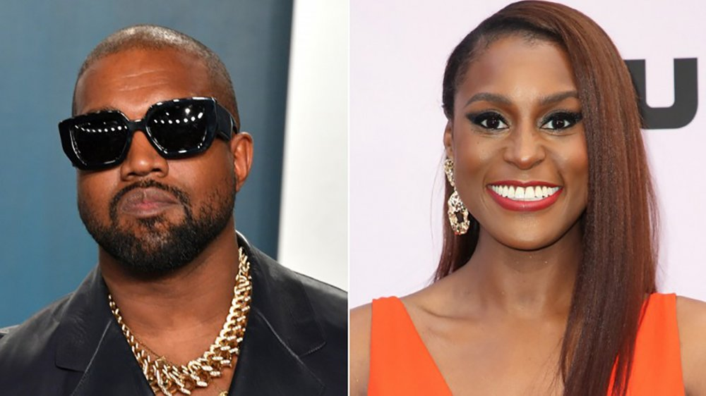 Kanye West et Issa Rae