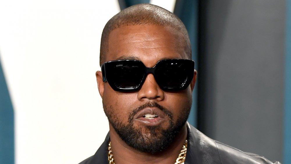 Kanye West assiste à la soirée des Oscars Vanity Fair 2020