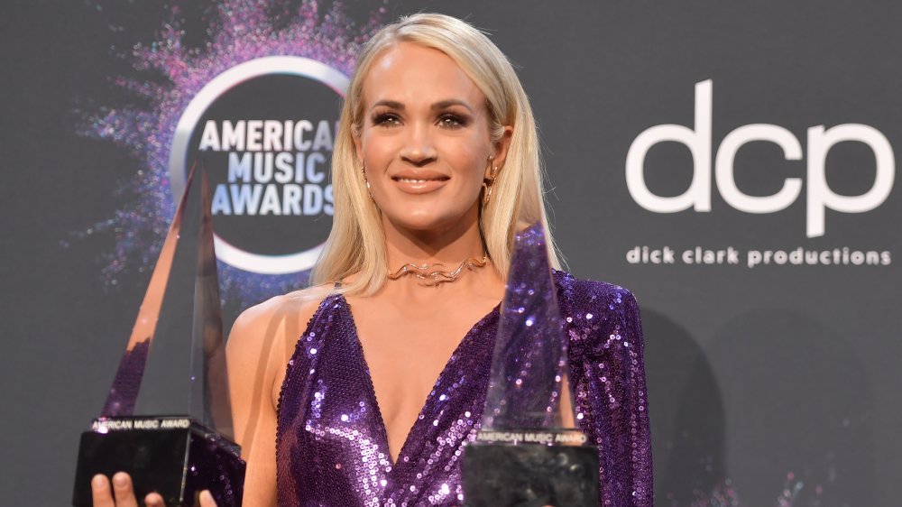 Carrie Underwood at the 2019 American Music Awards