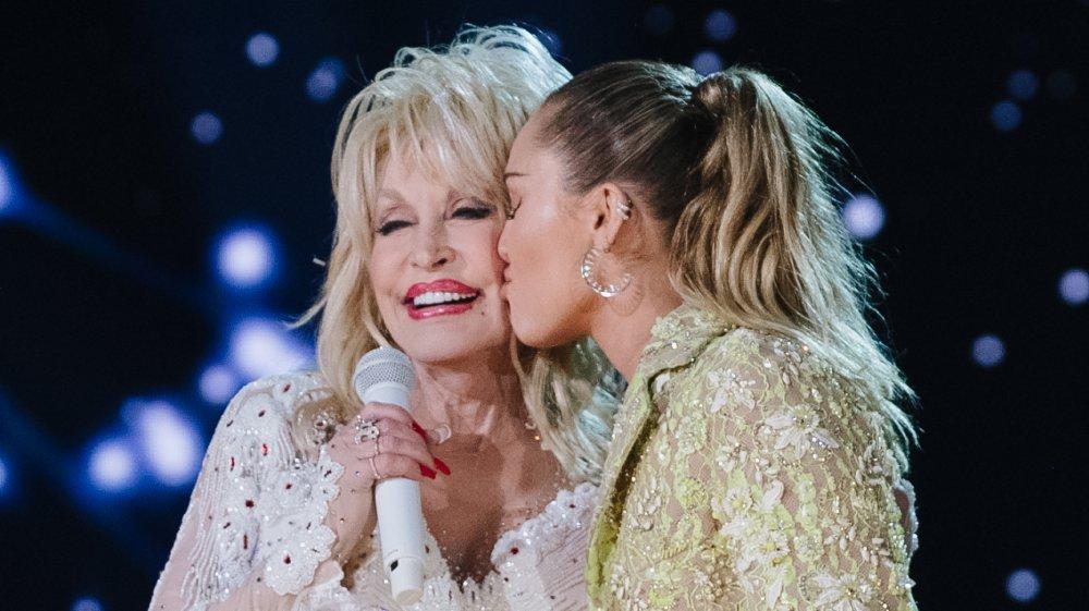 Dolly Parton et Miley Cyrus