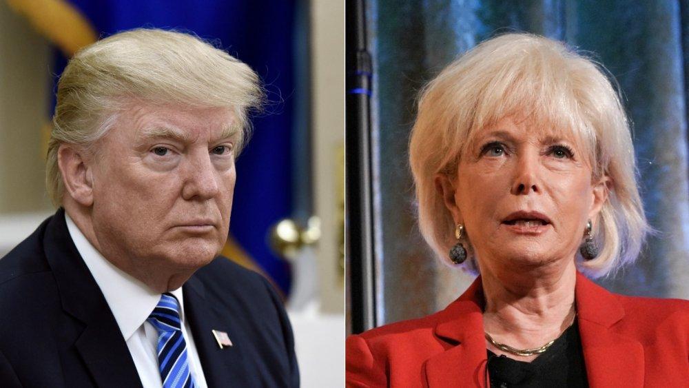 Donald Trump et Lesley Stahl
