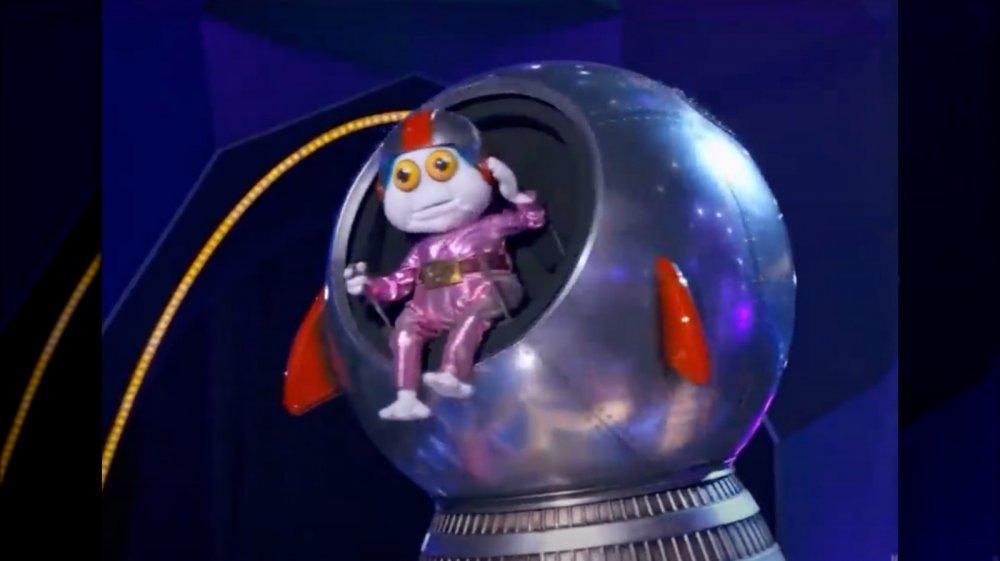 Baby Alien sur le chanteur masqué