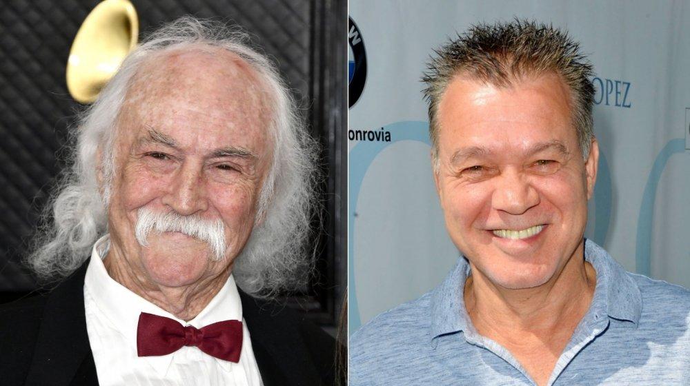 David Crosby et Eddie Van Halen