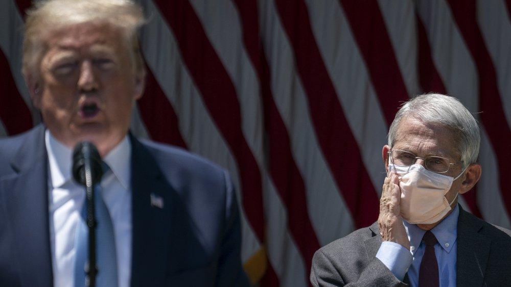 Donald Trump et Anthony Fauci