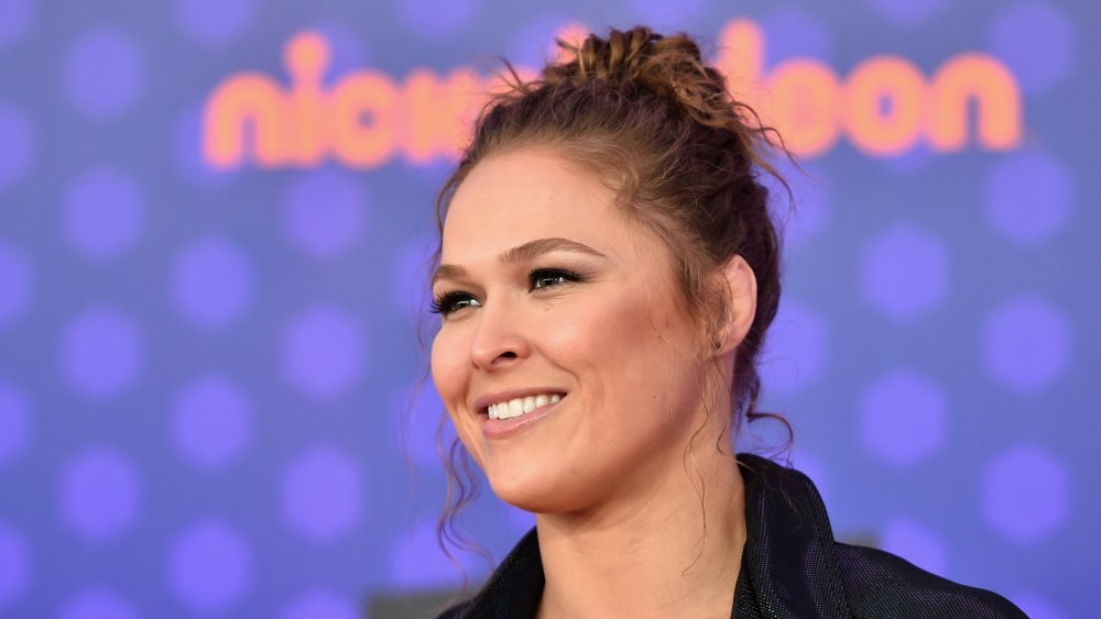 Ronda Rousey au Nickelodeon Kids 'Choice Sports 2018