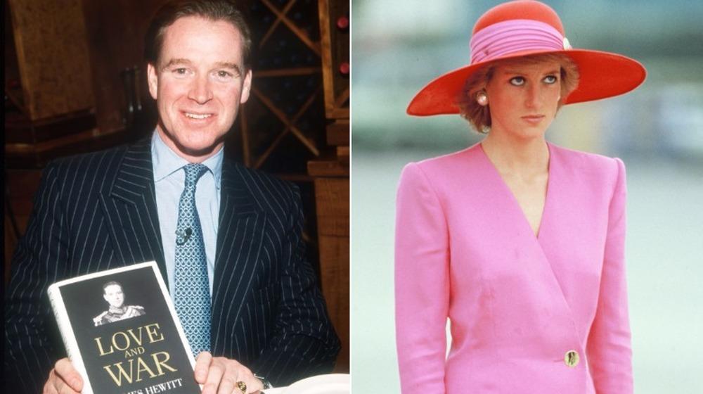 James Hewitt, la princesse Diana
