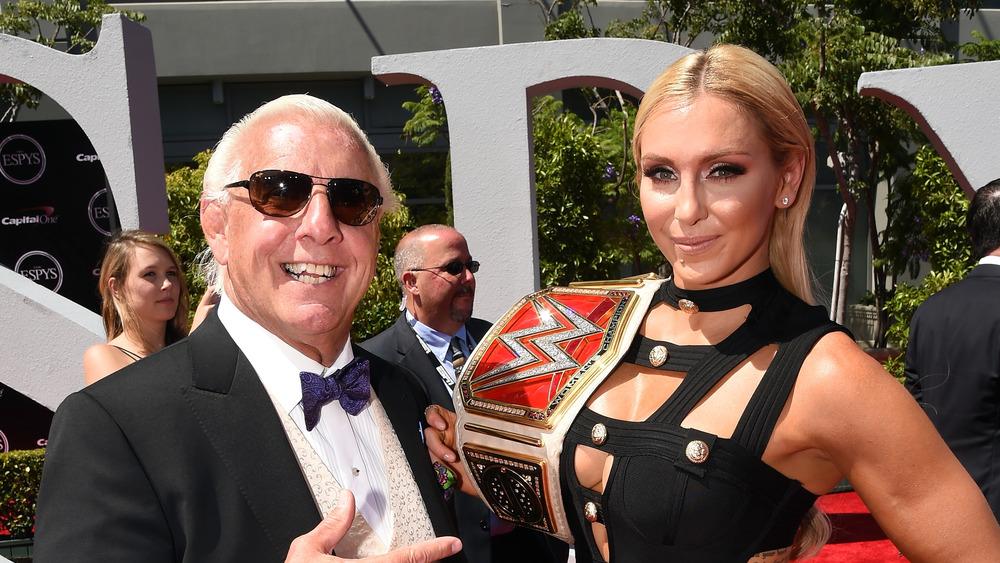Ric Flair et Charlotte Flair