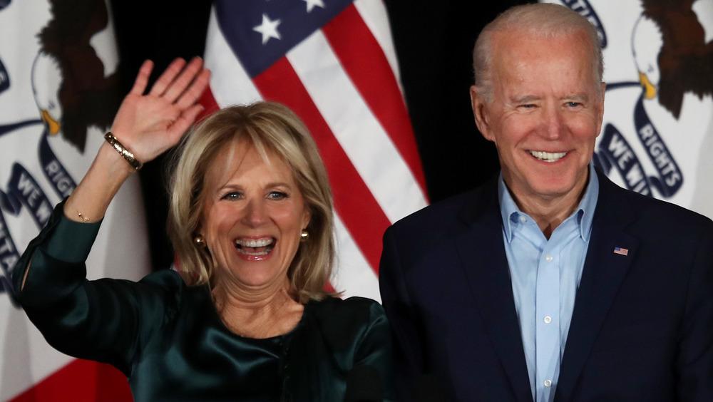 Jill Biden et Joe Biden souriant
