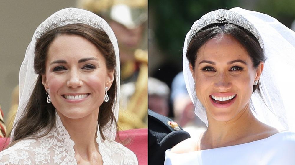 Robes de mariée Kate Middleton et Meghan Markle