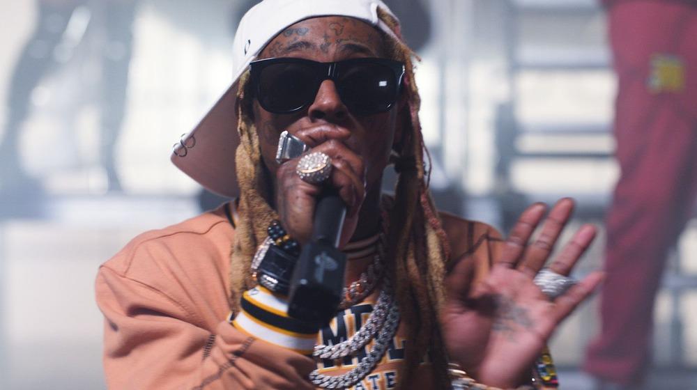 Lil Wayne sur scène