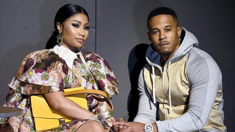 Nicki Minaj et son mari Kenneth Petty