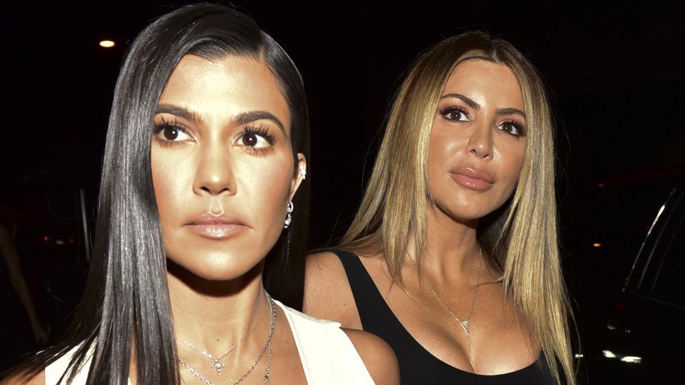 Kourtney Kardashian avec Larsa Pippen