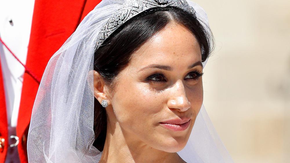 Maquillage de mariée Meghan Markle