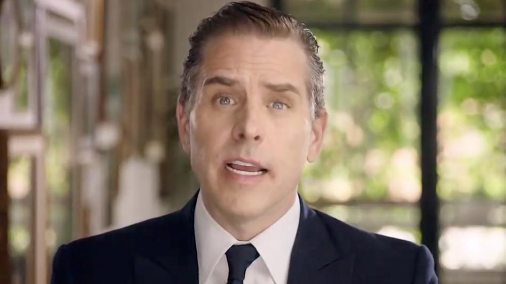 Hunter Biden s'exprimant dans une vidéo DNC