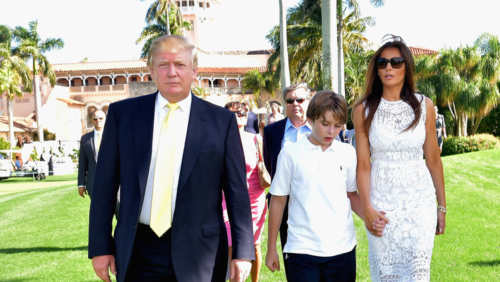 Donald Trump et sa famille Mar-a-Lago