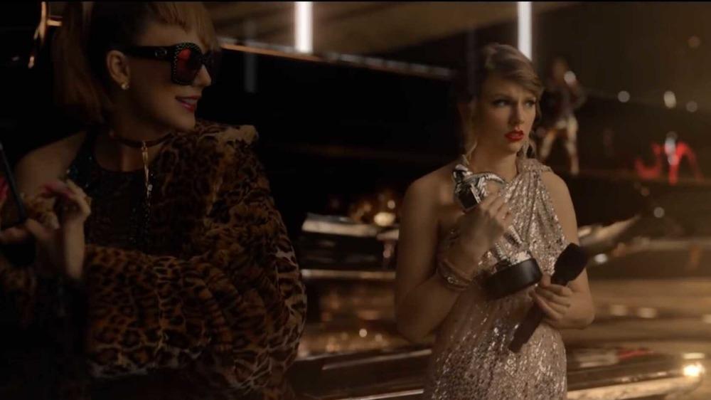 Taylor Swift s'est habillée en différentes versions d'elle-même côte à côte dans son clip pour Look What You Made Me Do