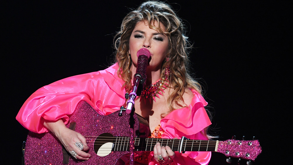 Shania Twain sur scène