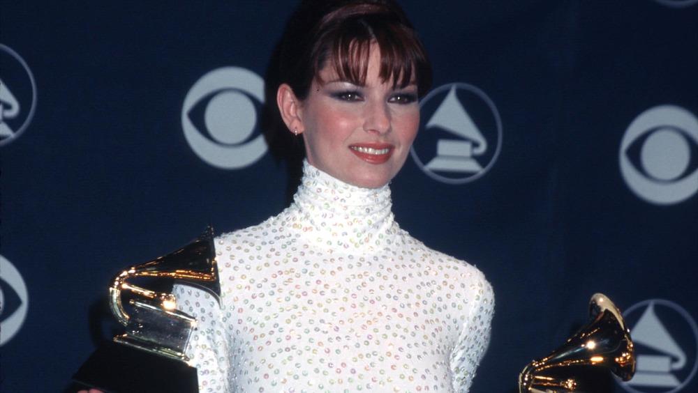 Shania Twain détient deux Grammy Awards