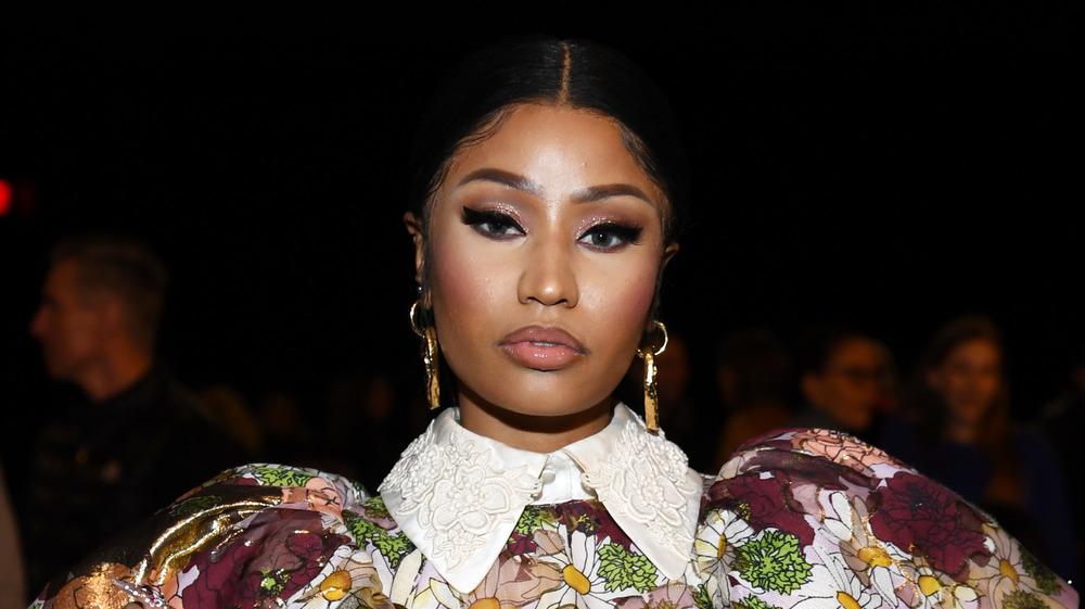 Nicki Minaj lors d'un défilé de mode