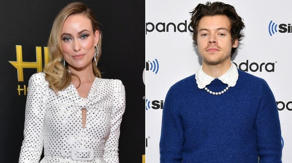 Olivia Wilde et Harry Styles sur des tapis rouges