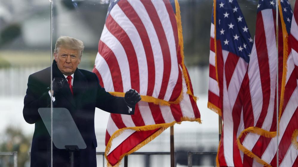 Donald Trump avant l'émeute à Capitol Hill