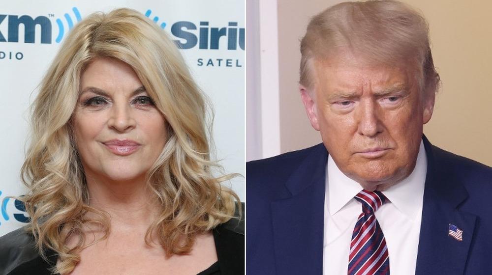 Kirstie Alley et Donald Trump côte à côte
