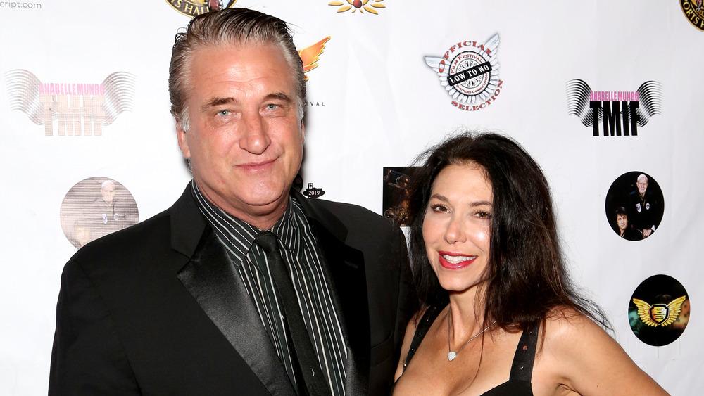 Daniel et Joanne Baldwin souriant ensemble