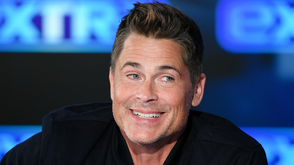 Rob Lowe souriant