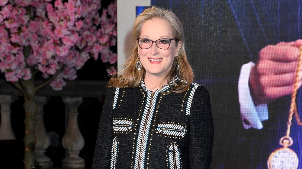 Meryl Streep souriant