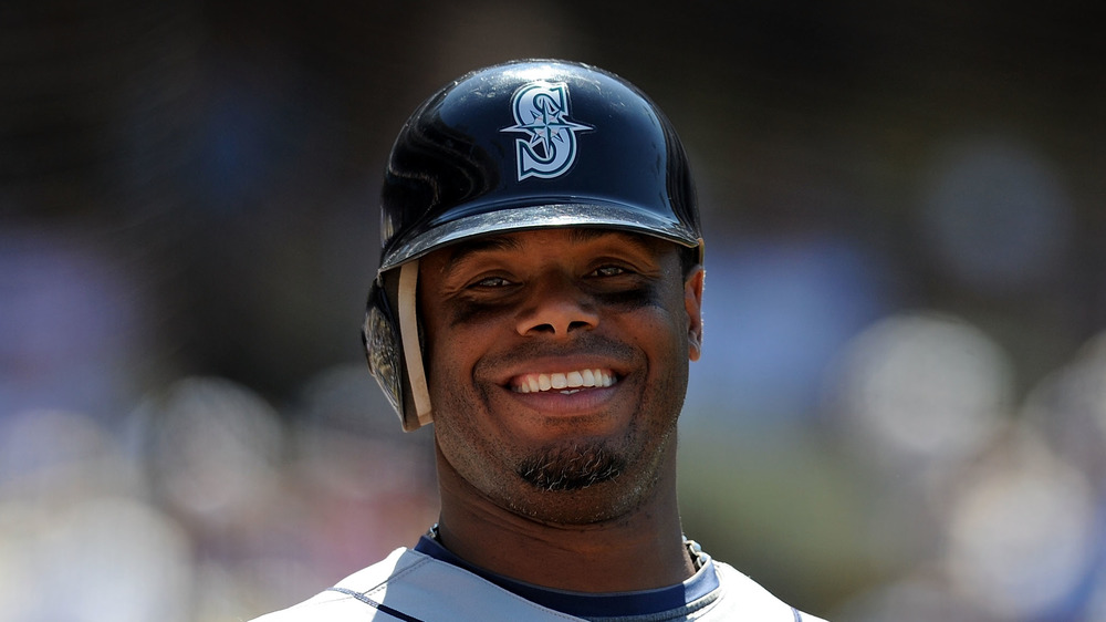 Ken Griffey Jr.au match de baseball