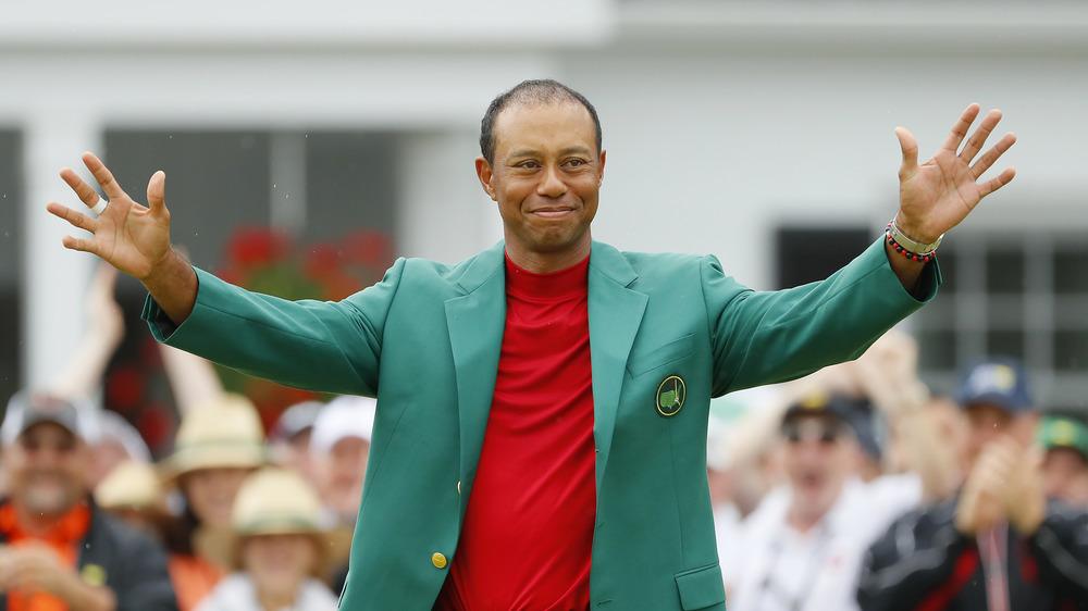 Tiger Woods en fête au Masters 2019