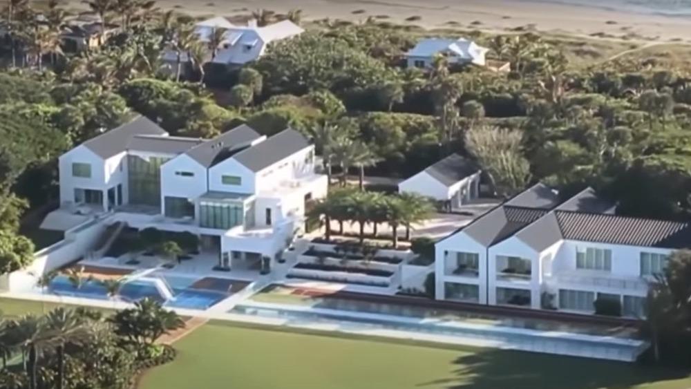 La maison de Tiger Woods sur l'île de Jupiter