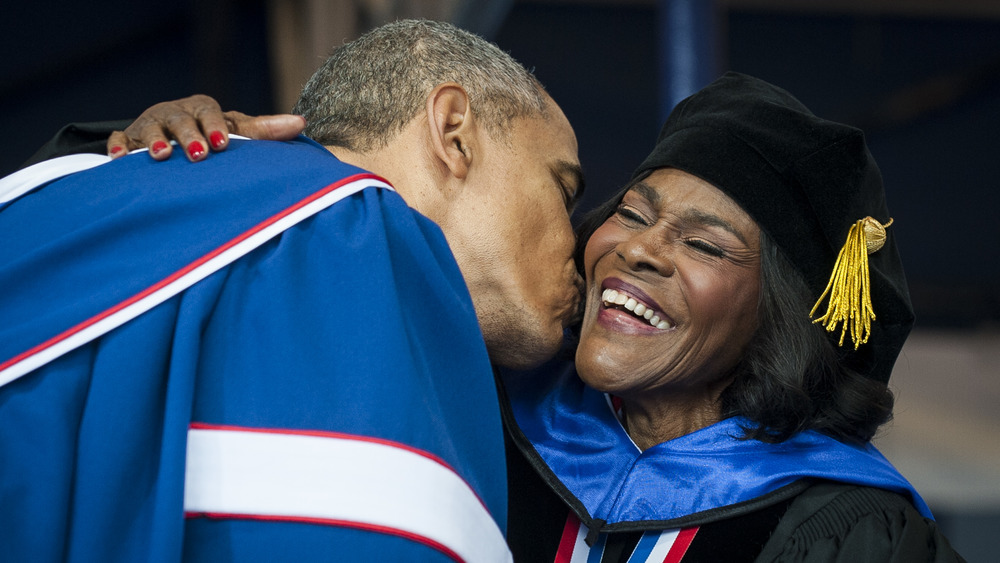 Barack Obama embrasse Cicely Tyson