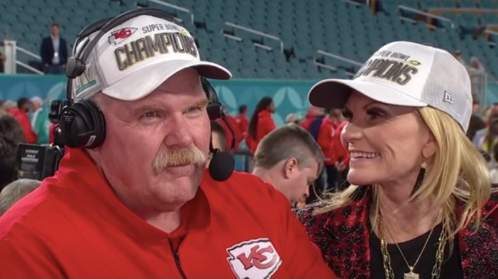 Entretien avec Andy Reid et Tammy Reid ESPN après avoir remporté le Super Bowl 2020