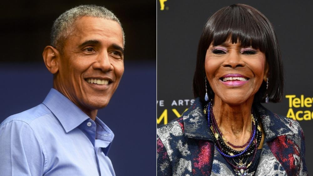 Barack Obama et Cicely Tyson divisent l'image
