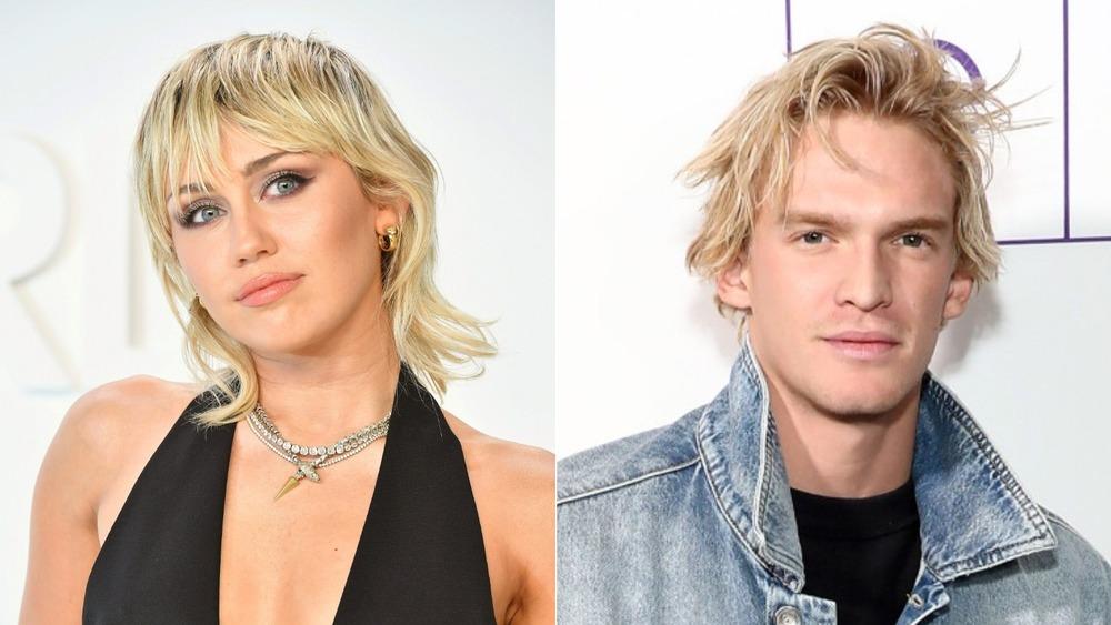 Miley Cyrus et Cody Simpson côte à côte