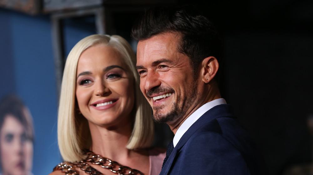 Orlando Bloom et Katy Perry lors d'un événement