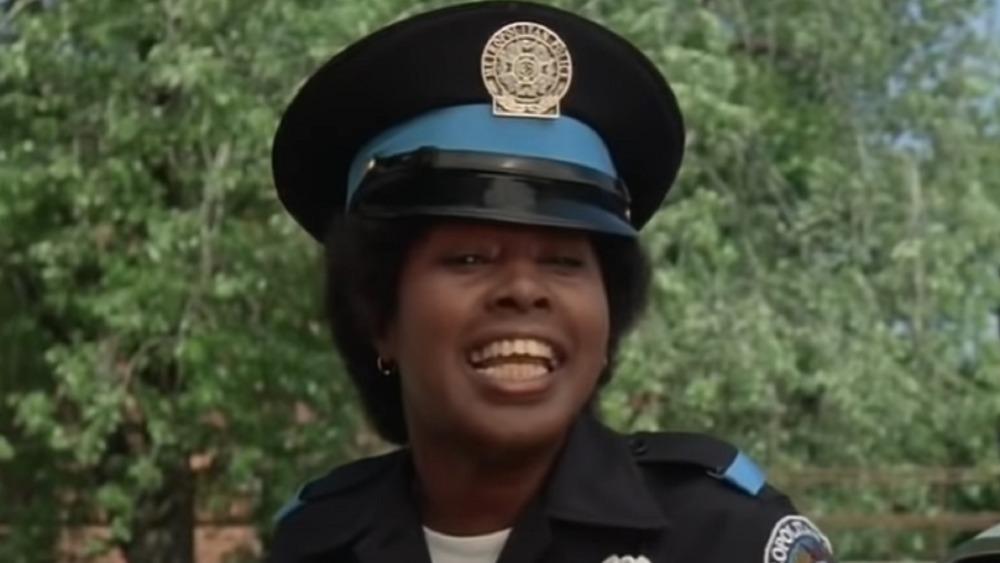 Marion Ramsey à l'Académie de police