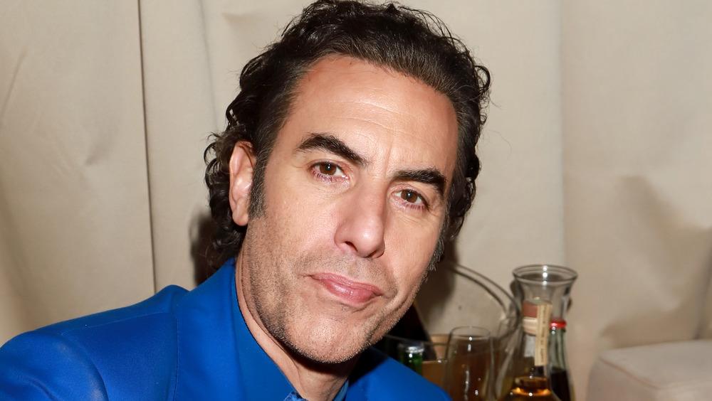Sacha Baron Cohen à la fête