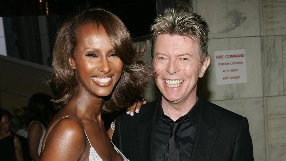 PEOPLE - David Bowie et Iman : un couple mythique