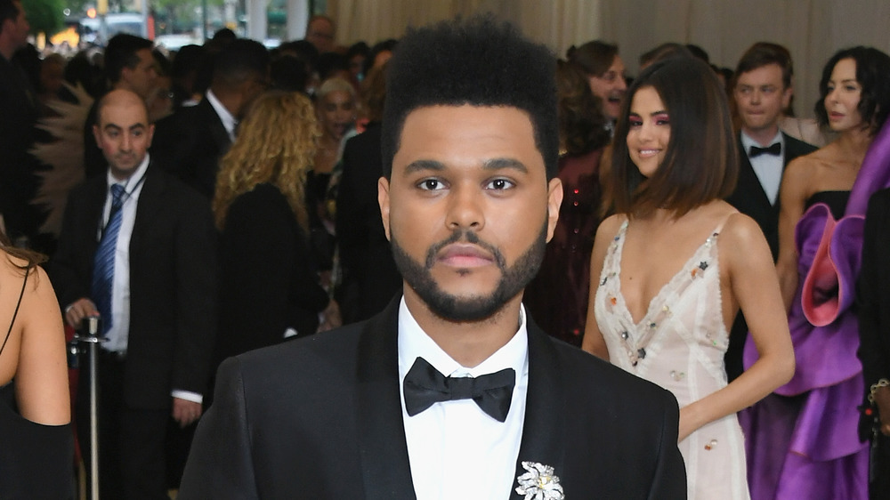 The Weeknd sur le tapis rouge