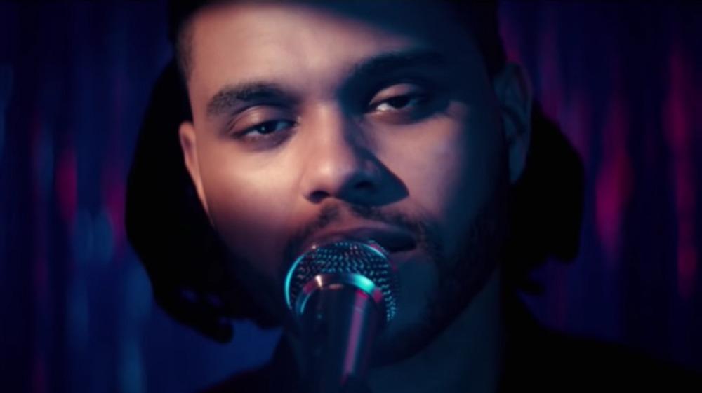 The Weeknd dans sa vidéo Can't Feel My Face